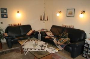 Ferienwohnung Budapest Wohnzimmer